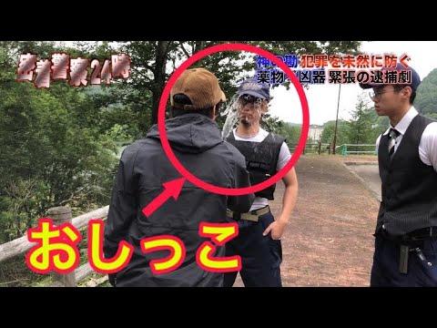 強制的に職務質問してきた警察におしっこをかけて撃退