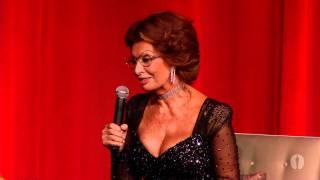 Billy Crystal hosts a tribute to Sophia Loren