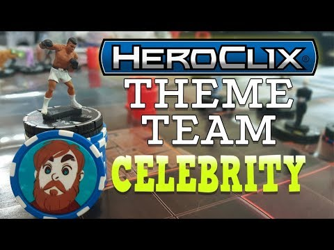 Heroclix Keyword Spotlight | TWB #64 | Celebrities!
