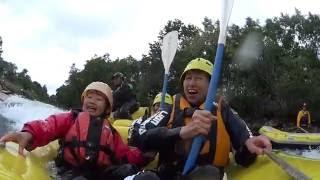 北海道ライオンアドベンチャー 2016 6 20 尻別川ラフティング