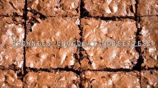 Brownies Chocolat-Noisettes