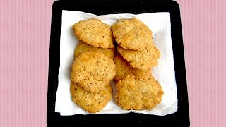 Mathri Recipe In Hindi - Indian Snacks Recipe By Sonia Goyal