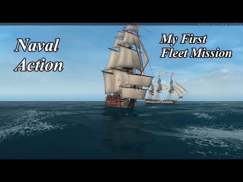 Naval Action My Fist Time in a Fleet Mission