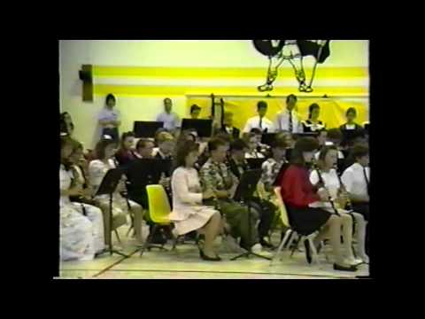 Vanston Middle School Band Concert 1992 May