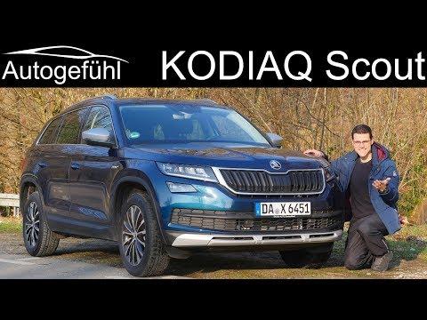 Skoda Kodiaq Scout FULL REVIEW test 2018/2019 - Autogefühl - Dauer: 38 Minuten
