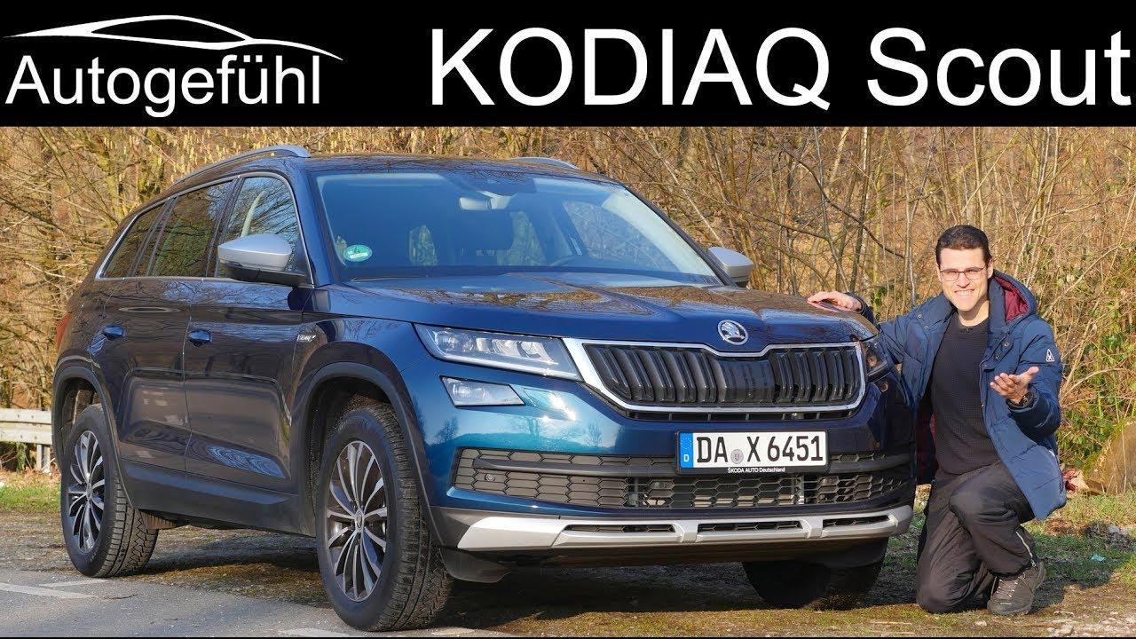 Skoda Kodiaq Scout Full Review Test 2018 2019 Autogefühl Youtube