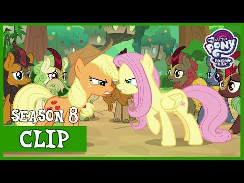 Applejack and Fluttershy Argue Sounds of Silence  MLP: FiM HD