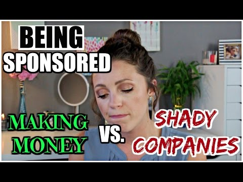 The TRUTH about Sponsorships | Shady Companies, $$