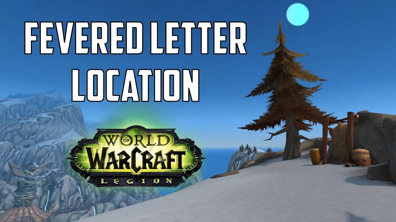 Fevered letter