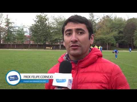 Juegos Escolares Cormusaf de Futbol: San Fernando College v/s Escuela San José de Los Lingues