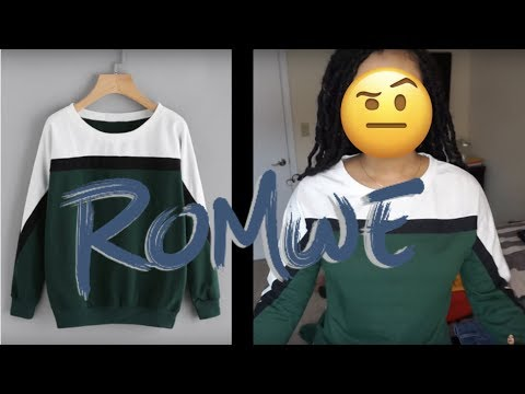 I spent $200 on Romwe andddd....... | Romwe Try On Haul + Review AND tips!