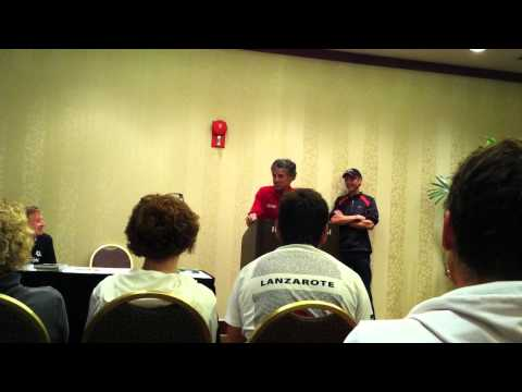 Frank Shorter talks about Pre