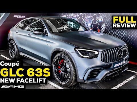 2020 MERCEDES AMG GLC 63S Coupé FACELIFT V8 Full Review BRUTAL Sound MBUX Interior Exterior