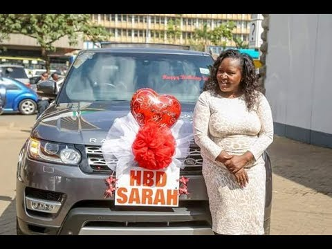 Bonfire Adventures MD Sarah Kabu Range Rover Birthday Surprise - YouTube