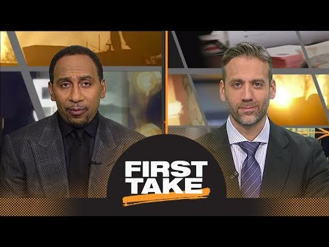 Stephen A. Smith says Steelers should be nervous about Patriots   First Take   ESPN