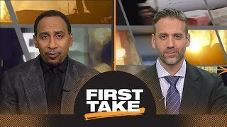 Stephen A. Smith says Steelers should be nervous about Patriots | First Take | ESPN