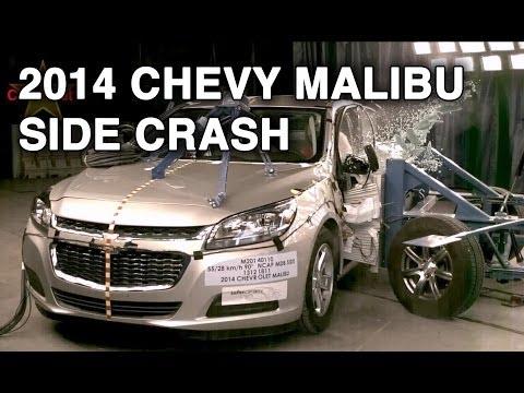 2014 Chevy Malibu | Side Crash Test | CrashNet1