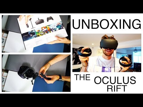 UNBOXING THE OCULUS RIFT