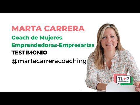 Marta Carrera, coach especializada en reinvención personal, nos habla de Traspasa La Pantalla