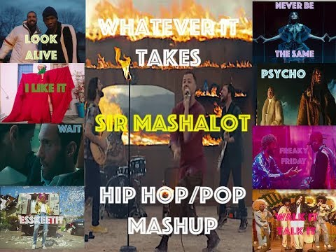 Imagine Dragons Mashup- Whatever It Takes (Drake, Cardi B, Maroon 5,  Lil Pump, Migos, etc)