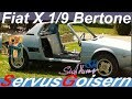 Restaurierung Fiat X 19 Bertone