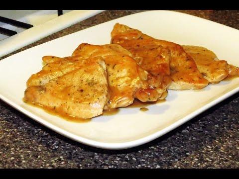 Turkey Chops In Pan Gravy Recipe