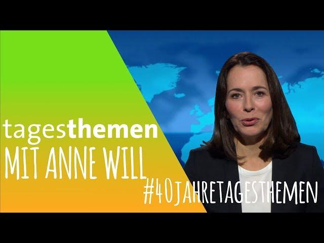 Anne Will im Studio - 40 Jahre ARD tagesthemen [2018]