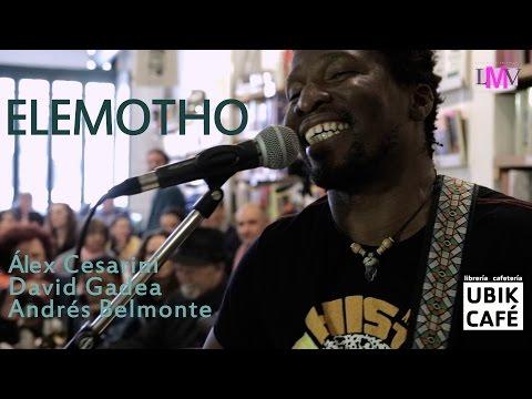 Elemotho - Ubik Café - LMV Live Music Valencia