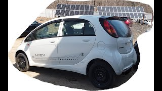 Ремонт батареи литий титанат на I-MIEV.