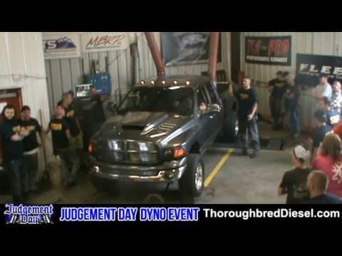 2004.5 Dodge Ram 2500 Diesel - Brian May Dyno Run