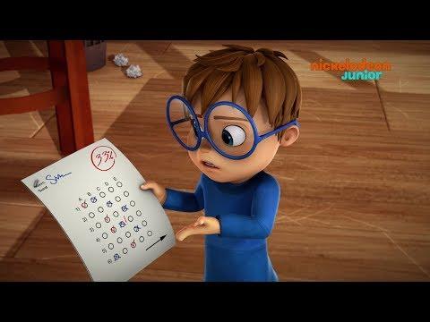 Alvinnn!!! Et les Chipmunks | La mauvaise note | NICKELODEON JUNIOR
