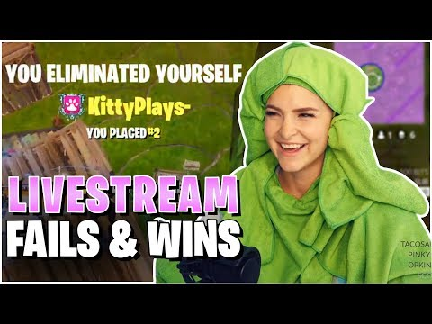 FORTNITE FUNNY MOMENTS! (KittyPlays Twitch Clip Compilation #6)