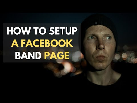 How To Setup a Facebook Band Musician Facebook Page