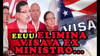 EEUU ELIMINA VISA a funcionario del FMLN