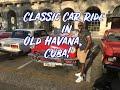 Classic Car Ride in Havana, Cuba