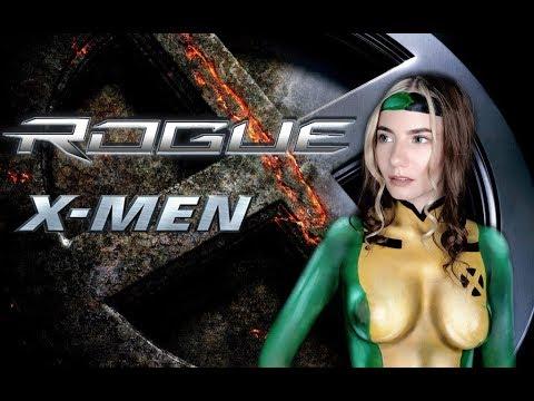 X-men Rogue Cosplay