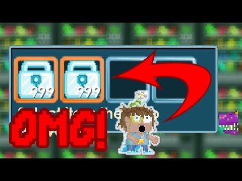 Quick 12,343 World Locks by Zwane! (1 week) - Growtopia - 동영상