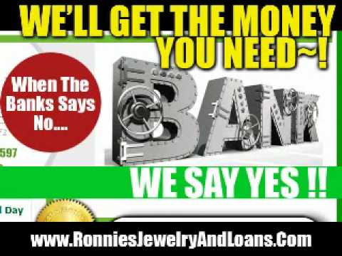 Cash For Gold - Commerce Township, Michigan - Ronnies Jewelry and Loans