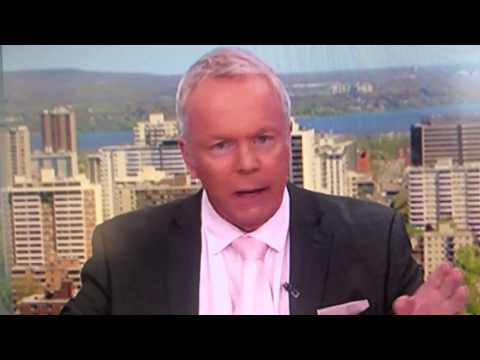 CHCH news anchor Bob Cowan swears on air