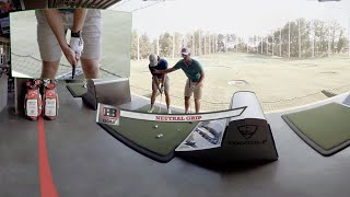 360 VR Video Golf Tips: How to Grip the Club
