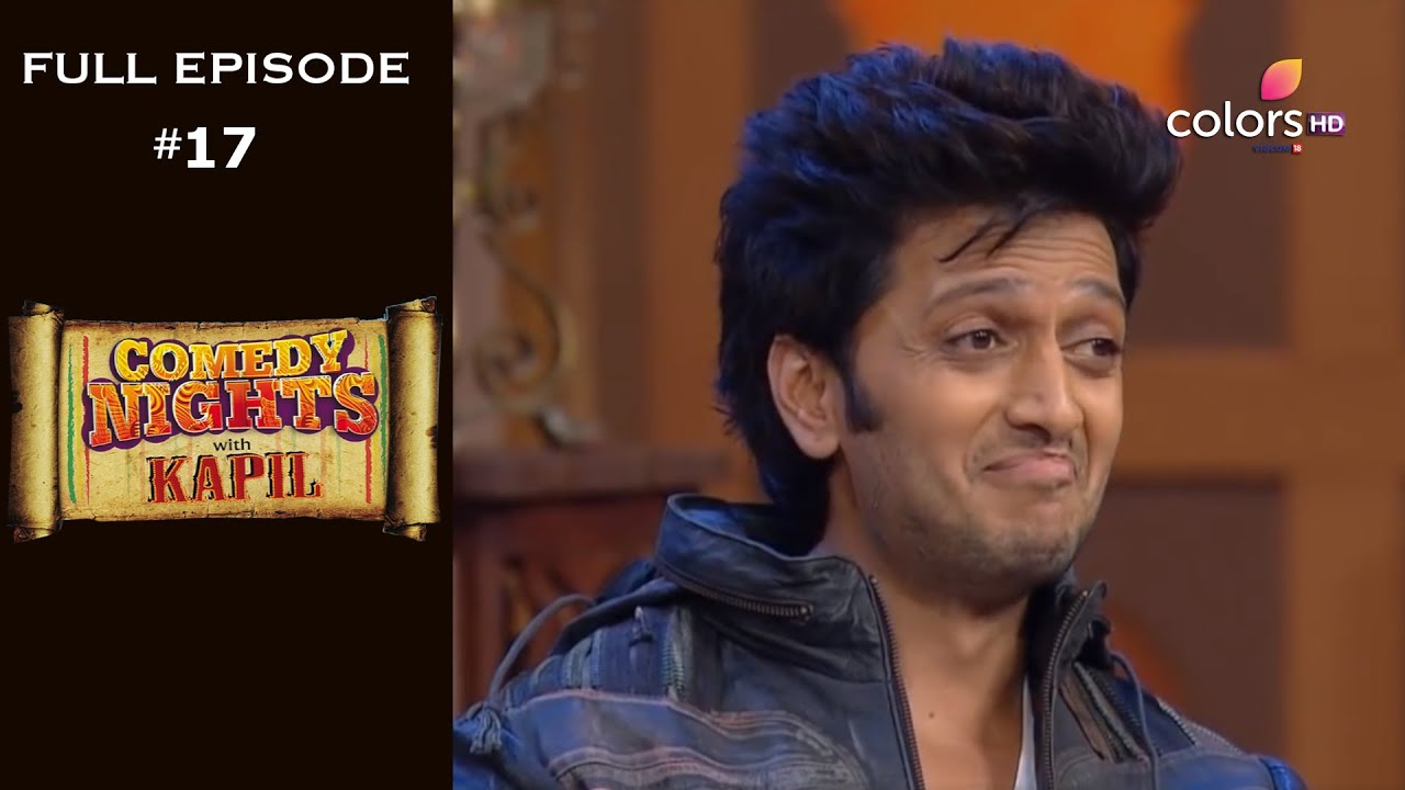 Download Comedy Nights with Kapil | Full Episode 17 | Aftab, Ritesh And Vivek