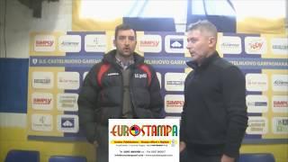 Interviste post partita Castelnuovo Garfagnana - Atletico Cenaia