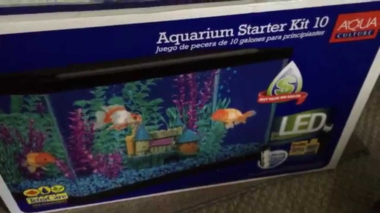 Aquarium fish tank starter kit - Aquarium Fish Tank Starter Kit