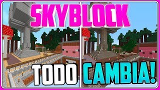 As everything looks with the MAGIC SCHOOL pack? │SKYBLOCK EP.46│OMEGACRAFT.CL SERVER NO PREMIUM