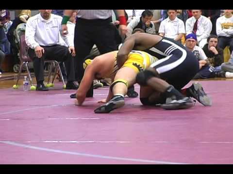 Brandon Johnston - District 26 Wrestling Tournament - Finals