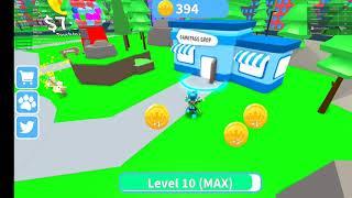 Roblox pet walking simulator codes!