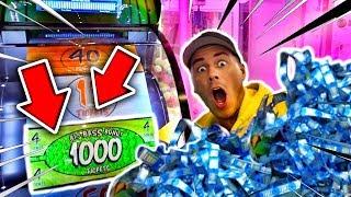 ICH habe 1.000.000 MILLIONEN Tickets GEWONNEN !!! 😱😭 OMG JACKPOT geknackt