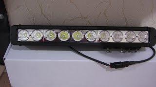Фары дальнего света LED SPOTLIGHT S10100 SPOT для внедорожников(Дополнительные светодиодные фары дальнего света LED SPOTLIGHT S10100 SPOT (узкий луч дальнего света), 2013-01-13T17:08:08.000Z)