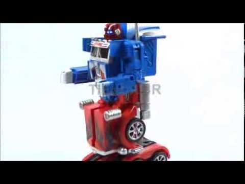 Mula Carro A Control Remoto Transformer Optimus Prime