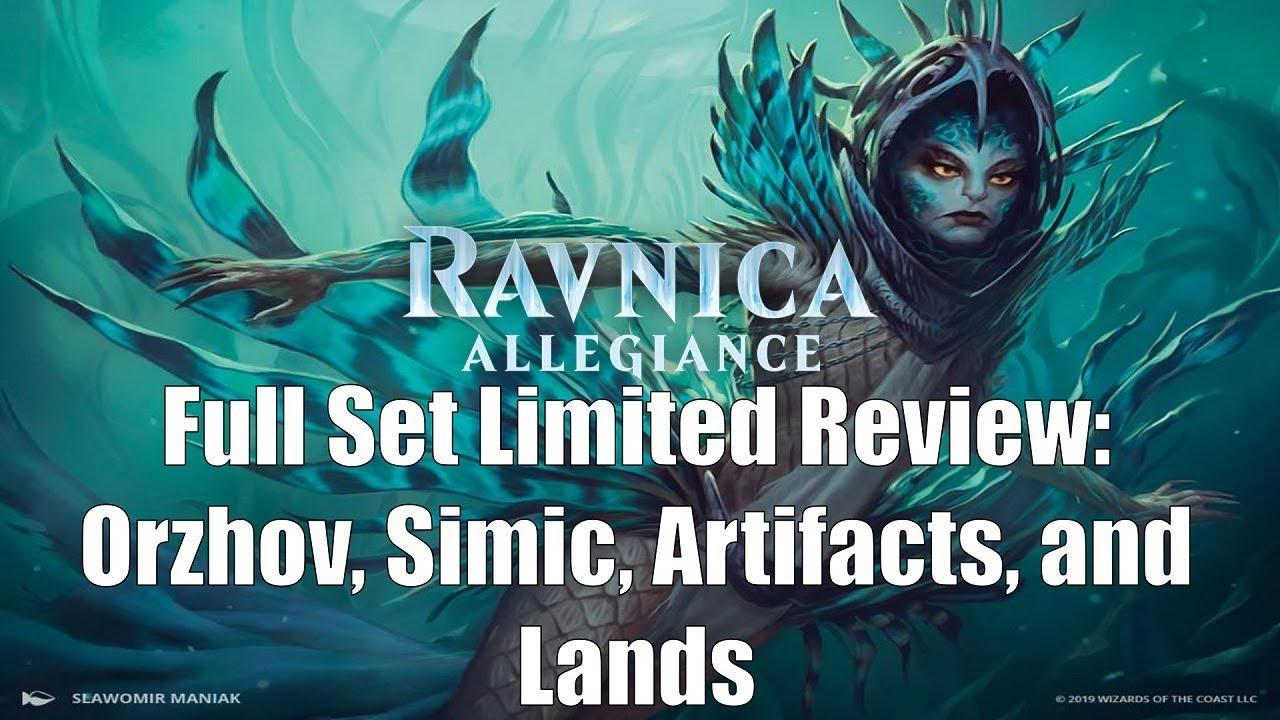 Ravnica Allegiance Full Set Limited Review Simic Orzhov Artifacts And Lands Youtube Azorius signet dissension (c) art $1.79. youtube